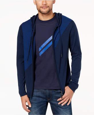 Daniel Hechter Paris Men's Colorblocked Wool Sweater Hoodie, Created for Macy's