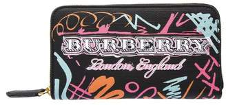 Burberry England Black Leather Wallet