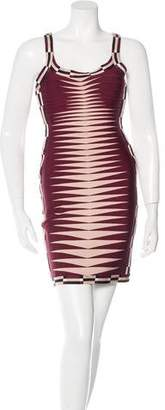 Herve Leger Sleeveless Karlie Dress