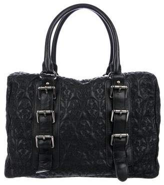 Thomas Wylde Quilted Leather Handle Bag