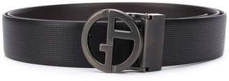 Giorgio Armani logo buckle belt