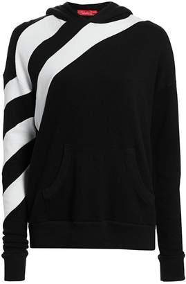 n:philanthropy Garnet Diagonal Stripe Sweatshirt