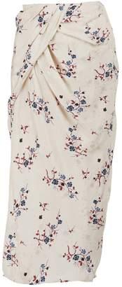 Kenzo Printed flowers skirt
