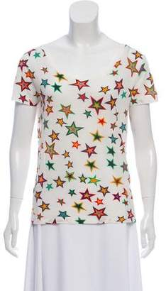 Saint Laurent Star Printed T-Shirt