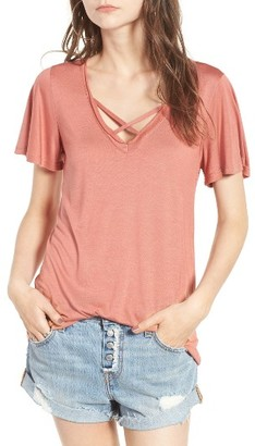Women's Pst By Project Social T Cross Front Tee $35 thestylecure.com
