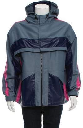 Valentino Convertible Rain Jacket