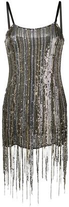 Amen sequinned mini dress