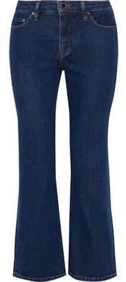 Victoria Beckham Victoria Mid-Rise Kick-Flare Jeans