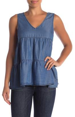 Velvet Heart Jil Chambray Tank Top