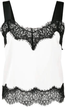 Pinko lace top