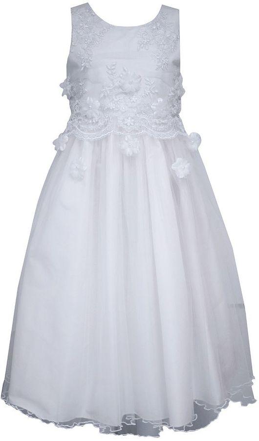 Bonnie JeanGirls 7-16 Bonnie Jean Popover Tulle Dress