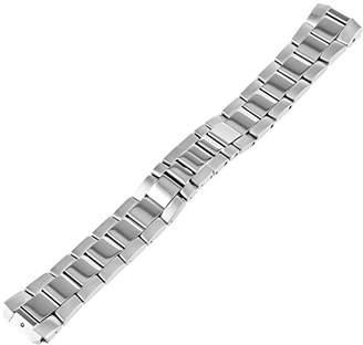 Philip Stein Teslar 2-SS 20mm Stainless Steel Silver-Tone Watch Bracelet