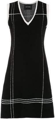 Tufi Duek short knitted dress