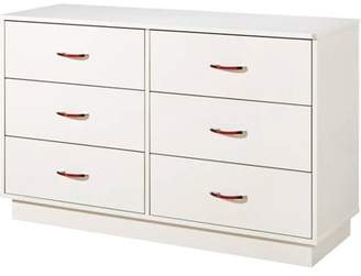 South Shore Furniture South Shore Logik 6-Drawer Double Dresser, Multiple Finishes