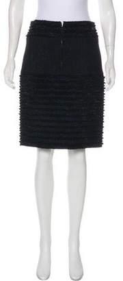 Chanel Wool Knee-Length Skirt w/ Tags