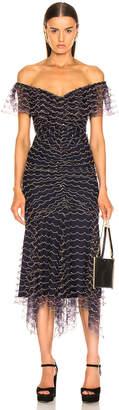 Alice McCall Valentine Midi Dress in Indigo   FWRD