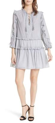 Ulla Johnson Essie Ruffle Trim Dress