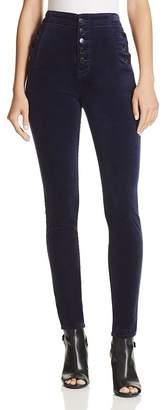 J Brand Natasha Super Skinny Velvet Jeans in Night Out - 100% Exclusive