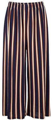 Dorothy Perkins Womens *Navy Stripe Crop Culottes