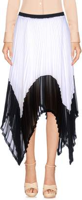 Enza Costa Knee length skirts