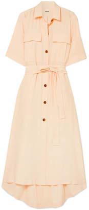 Leilani Khaite Crepe Shirt Dress - Cream