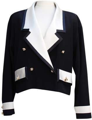 Chanel Black Silk Jackets