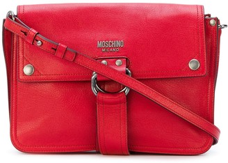 Moschino D-ring strap satchel