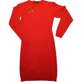 Versus Red Cotton Dress for Women