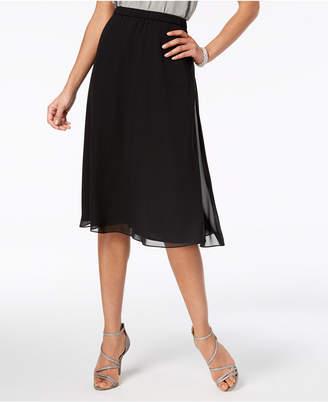 Alex Evenings Petite Chiffon A-Line Skirt, Regular & Petites