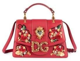 Dolce & Gabbana Dolce& Gabbana Dolce& Gabbana Women's Small Millenial Top Handle Satchel - Red