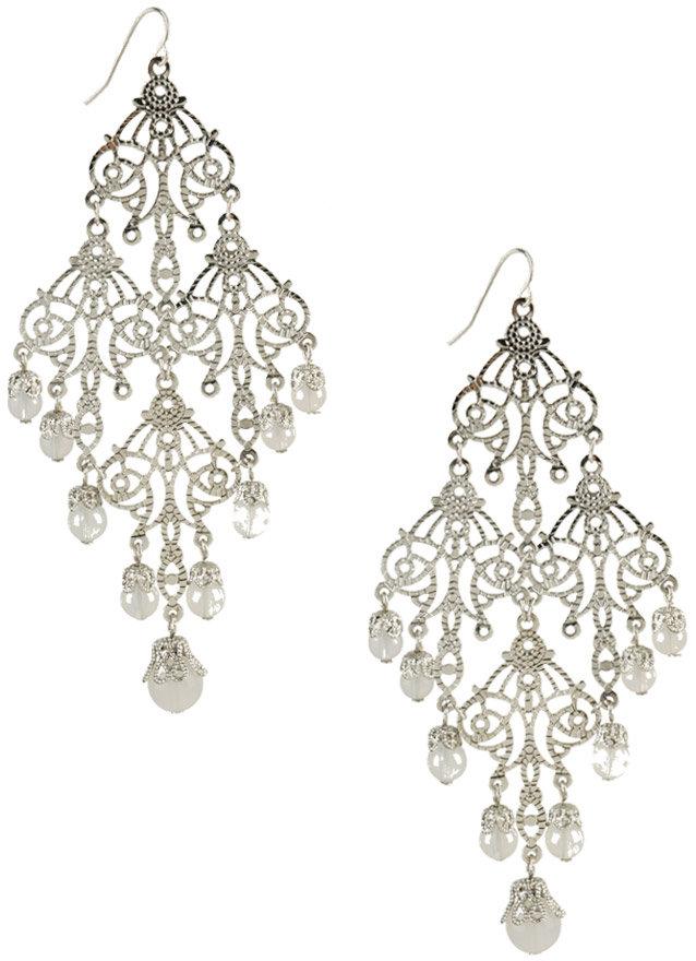 Intricate Bead-End Earrings