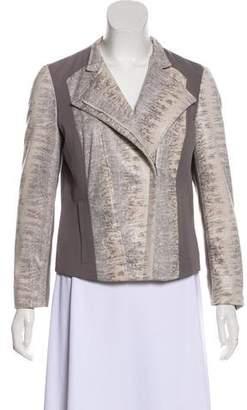 Calvin Klein Patterned Zip-Up Jacket