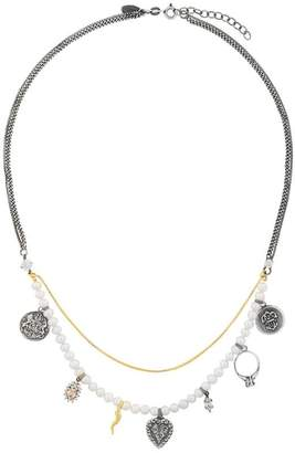 Iosselliani Silver Heritage pearl necklace