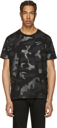 Valentino Black Camunoir T-Shirt $595 thestylecure.com