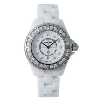Chanel J12 Quartz White Ceramic Watches