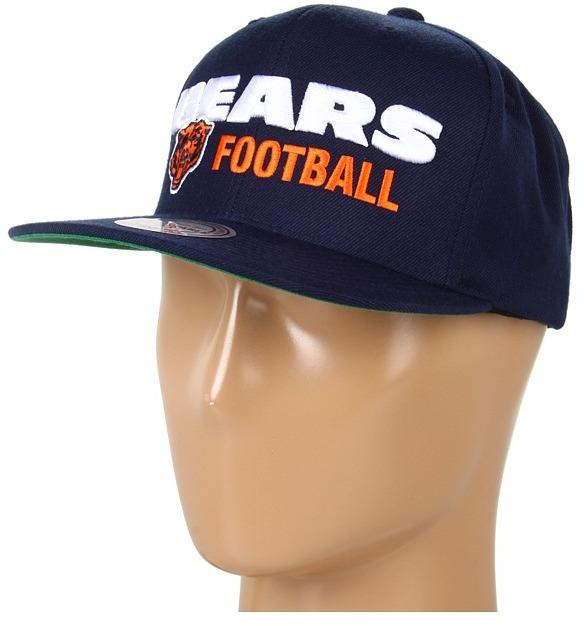 Mitchell & Ness NFL Throwbacks Blocker Snapback - Chicago Bears (Chicago Bears) - Hats