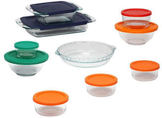 Pyrex Bake And Store 19 Piece Set