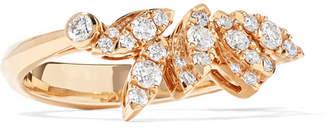 Stephen Webster Hearts On Fire White Kites 18-karat Rose Gold Diamond Ring