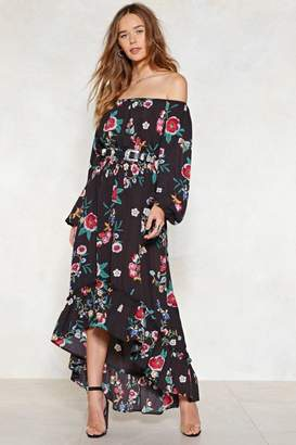 Nasty Gal Grow For It Off-the-Shoulder Dress