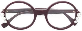 Fendi Eyewear round glasses