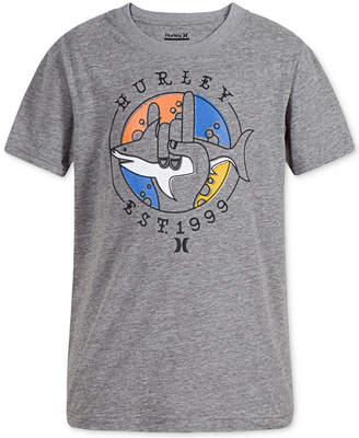 Hurley Big Boys Dri-FIT Graphic-Print T-Shirt