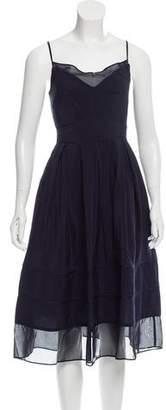 Timo Weiland Satin Midi Dress w/ Tags