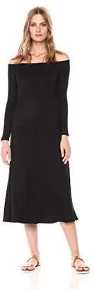 BB Dakota Women's Blaire Off the Shoulder Maxi Dress