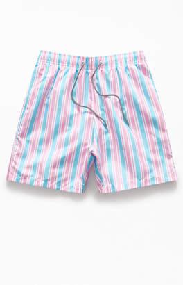 """Boardies Candy Stripe 16"""" Swim Trunks"""