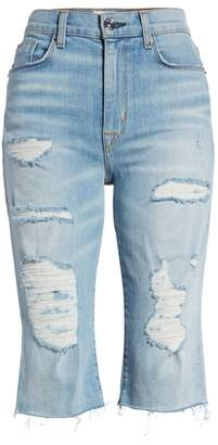 Hudson Zoeey High Waist Cutoff Boyfriend Shorts