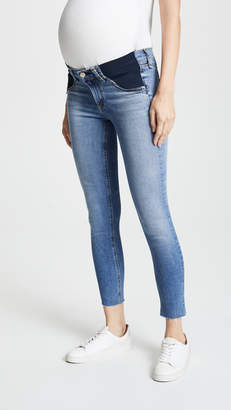 Rag & Bone Cropped Maternity Jeans