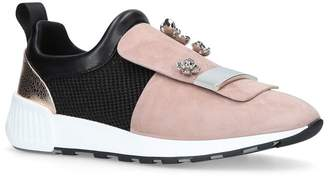 Sergio Rossi Embellished Sr1 Running Low-Top Sneakers