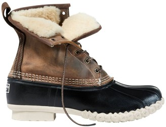 "L.L. Bean Men's L.L.Bean Boot, 8"" Shearling-Lined"