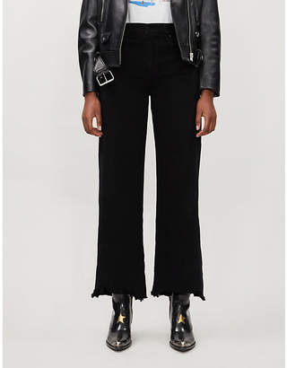 Nobody Denim Skylar wide-leg high-rise jeans