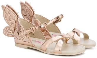 Sophia Webster Mini butterfly sandals